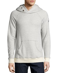 Sol Angeles Roma Cowl Neck Hoodie Gray