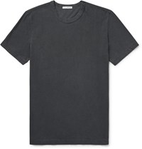 James Perse Cotton Jersey T Shirt Dark Gray