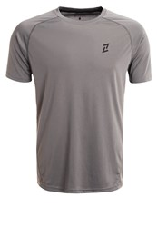 Your Turn Active Sports Shirt Mid Grey