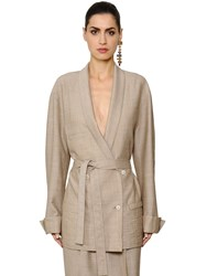 Nehera Double Breasted Cool Wool Jacket