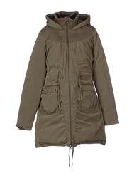 Fornarina Down Jackets Military Green