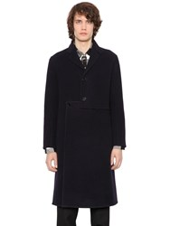 J.W.Anderson Asymmetrical Front Wool And Cashmere Coat