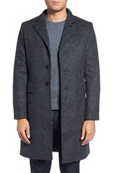 J. Lindeberg Men's Golf Wolger Wool Blend Topcoat