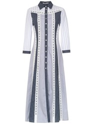 Martha Medeiros Midi Shirt Dress White