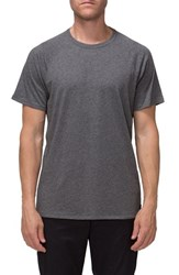 Tavik Men's 'Covert Ii' Raglan T Shirt Heather Grey