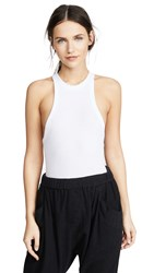 Free People Wide Eyed Tank White