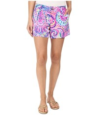 Lilly Pulitzer Callahan Shorts Multi Psychedelic Sunshine Women's Shorts