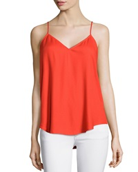 Ella Moss Caged Back Camisole Tiger Lily