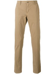 Jacob Cohen Chino Trousers Brown