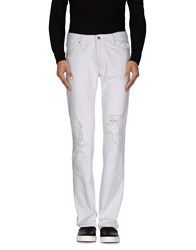 Polo Jeans Company Denim Denim Trousers Men White