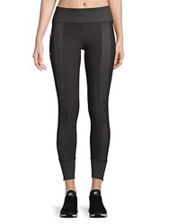 X By Gottex Trainer Zipper Leggings Clintz
