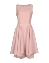 Alex Vidal Short Dresses Pink