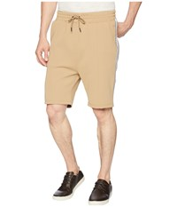 Publish Mathias Side Ribbed Shorts Khaki
