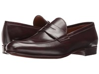 Gravati Penny Loafer Black Cherry Men's Slip On Dress Shoes Burgundy