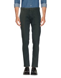 No Lab Casual Pants Dark Green