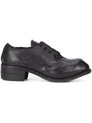 Guidi Lace Up Shoes Black