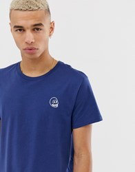 Cheap Monday Tiny Skull T Shirt Blue