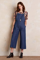 Loup Deacon Wide Leg Dungarees Tinted Denim