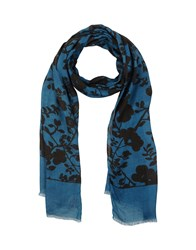 Altea Accessories Oblong Scarves Women Slate Blue