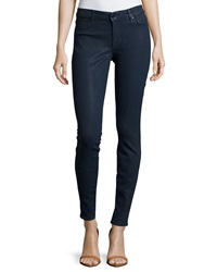 Cj By Cookie Johnson Joy Coated Denim Leggings Navy