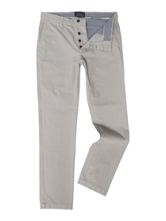Criminal Stanley Slim Leg Chino Grey