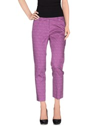 Weekend Max Mara Trousers Casual Trousers Women Mauve