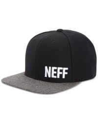 Neff Men's Daily Embroidered Logo Hat Black