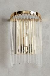 Anthropologie Arched Waterfall Sconce Clear