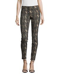 Cj By Cookie Johnson Joy Snake Print Leggings Brown