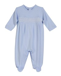 Kissy Kissy Clb Fall Footie Playsuit Size Newborn 9 Months Blue