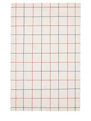 Normann Copenhagen Simple Check Set Of 2 Tea Towels Multicolor
