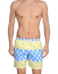 Franks Swimming Trunks Yellow