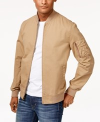 American Rag Men's Baumwolle Bomber Jacket Only At Macy's Dull Gold
