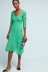 Plenty By Tracy Reese Angelica Lace Midi Dress Green