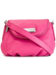 Marc By Marc Jacobs 'New Q Mini Natasha' Crossbody Bag Pink And Purple
