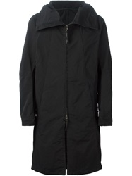 The Viridi Anne The Viridi Anne Hooded Parka Black