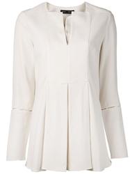 Proenza Schouler Tunic Style Blouse Nude And Neutrals