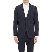 Theory Wellar Hc Two Button Sportcoat Navy