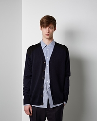 Marni Colorblock Cardigan Ultra Marine
