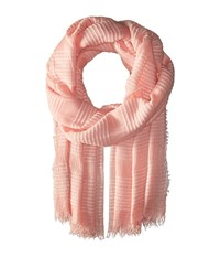 Echo Tissue Weight Wrap Scarf Cambon Coral Scarves Multi