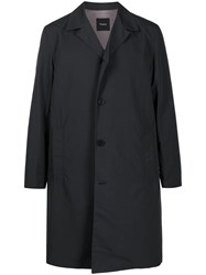 Theory Fitted Single Breasted Coat 60