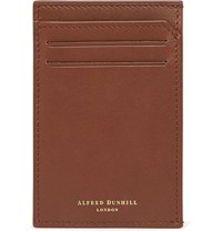 Dunhill Leather Cardholder Brown