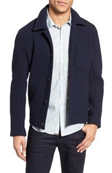 Billy Reid Men's Gunner Wool Jacket