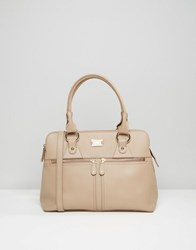 Modalu Leather Pippa Tote Bag Mink Beige