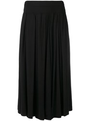 Aspesi Midi Skirt Black