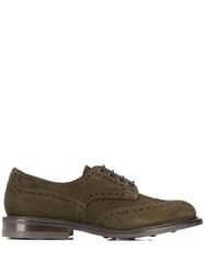 Tricker's Trickers Burton Heart Brogues Green