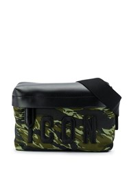 Dsquared2 Icon Camouflage Print Bum Bag Green