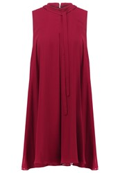 Bcbgeneration Summer Dress Wine Red Bordeaux