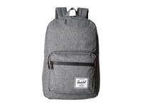 Herschel Pop Quiz Raven Crosshatch Backpack Bags Gray