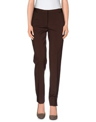 Blugirl Blumarine Trousers Casual Trousers Women Dark Brown